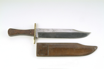 Confederate Bowie Knife and Scabbard