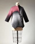 Jacket Description: Hand loomed, dyed, felted, wool Dimensions: H:0.10 x W:0.10 x D:0.10 Inches
