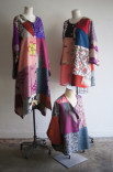 Vintage Patchwork Kimono Clothing Description: Each piece is made one of a kind and one at a time out of vintage Japanese kimonos. I've been working in Japanese Kimonos since the 1980s from my Melrose store. I make jackets, shirts, and dresses. Dimensions: H:24.00 x W:24.00 x D:24.00 Inches