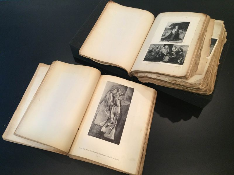 Ibram Lassaw's encyclopedia, Ibram Lassaw papers, 1928-2003, Archives of American Art, Smithsonian Institution.