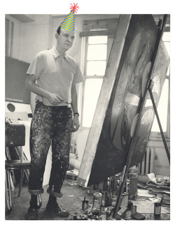 We are throwing a birthday party for painter Robert Motherwell! To mark the occasion, we will give away 101 free birthday cupcakes and share fun facts about Motherwell's remarkable life. Join us in the Kogod Courtyard on January 24 at 1:00 pm. Details here.Birthday boy   Robert Motherwell, 1952 / Kay Bell Reynal, photographer. [Photographs of artists taken by Kay Bell Reynal], 1952. Archives of American Art, Smithsonian Institution.