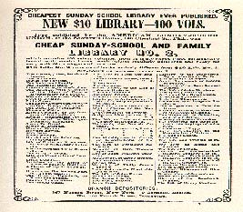 Front page of catalogue