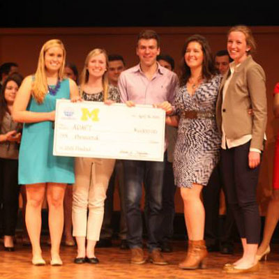 Making a Difference & A Dollar: Undergraduate Entrepreneurs at the Stamps School