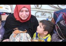 Civilians Fleeing as Battle for Mosul enters last days