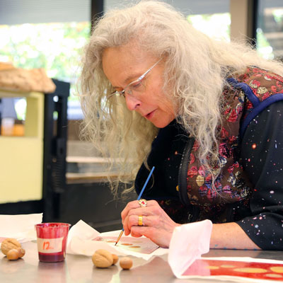 Kiki Smith Exhibits Work Created at Stamps School Residency