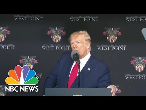 All the Lies Trump told the West Point Graduates about American Militarism