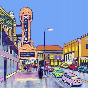 Walter Griggs: Ann Arbor Art Fair Animation