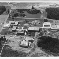Aerial photo of UNC Charlotte campus, 1967