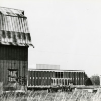 W.A. Kennedy Building and barn, circa 1962