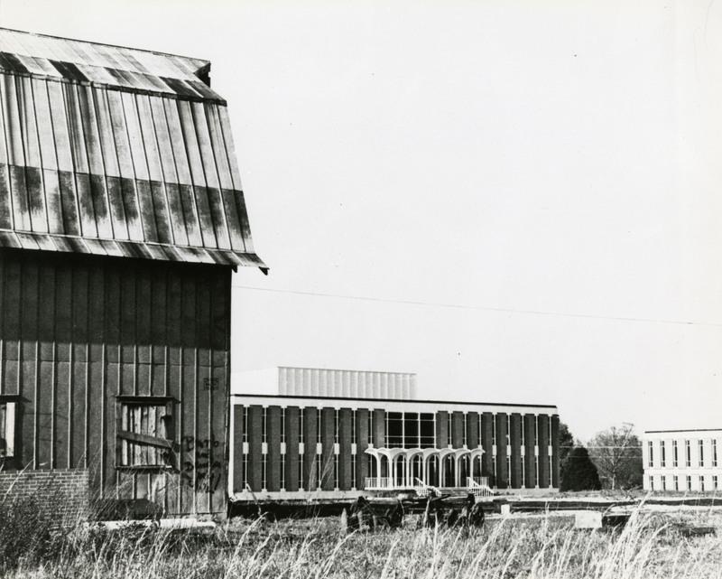 W.A. Kennedy Building and barn, circa 1962