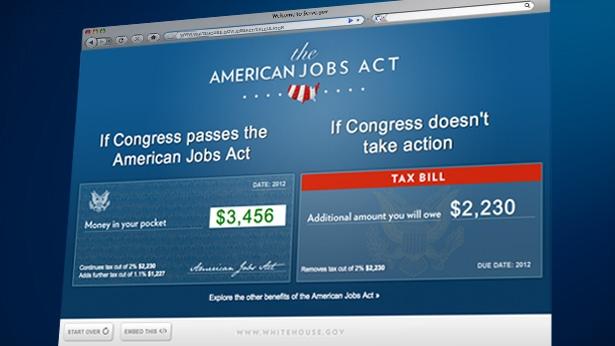 Middle Class Tax Cut Calculator