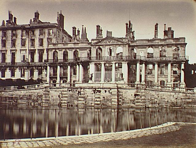 Bien connu Palace of Saint-Cloud., Siege of Paris, Special Collections  PY08