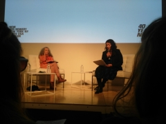 38. The New Museum: Conversations with Margot Norton curator and Judith Bernstein 2017