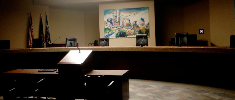 Boise City Council chamber.