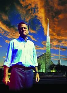 Romney photo illustration