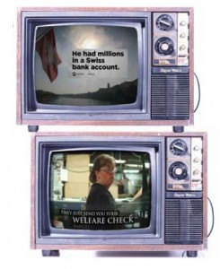 Attack ads from the Obama and Romney campaigns