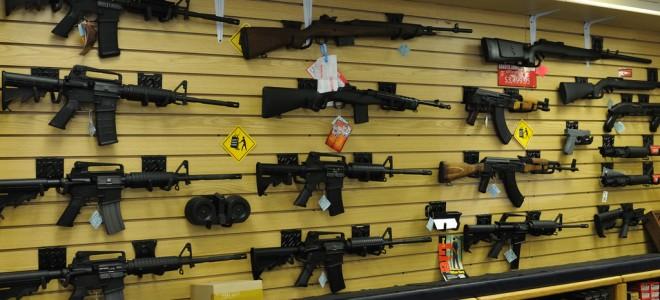 Photo of gun shop
