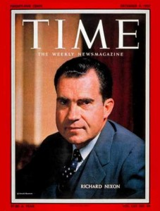 Eight years after his narrow defeat in 1960, Richard Nixon persevered to win the presidency with strong support from the Anglo-Saxon Protestant heartland. His ethnic roots in the devout Quaker enclave of Whittier, California, nurtured stern self-reliance and moral conservatism.  Nixon's 1968 victory has been described as a status revolution for the insiders who became outsiders in the 1960s when Democrats sought to exclude them from power.