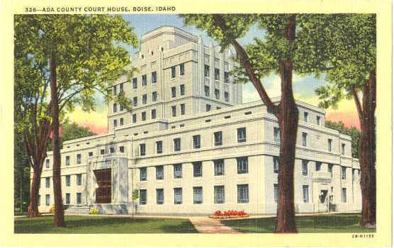 Finding new uses for old structures helps preserve and revitalize historic places bypassed by suburban growth. Pictured: The 1939 Ada County Courthouse, once slated for demolition, is the future home of the University of Idaho Law Center.