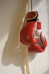 Boxing gloves. Modern padded gloves were invented to protect boxers from the barbaric injuries of bare-knuckle prizefighting. But the gloves allowed harder punches to the head, increasing brain injuries.