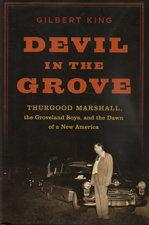 "Gilbert King's ""Devil in the Grove"" book cover"