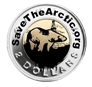 Save the Arctic Toonie Sticker