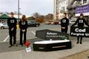 Greenpeace cod funeral highlights Sobeys' failure to protect overfished species