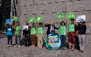 2017/06/02 Greenpeace Japan and 350.org Japan Hold Emergency Action to Protest U.S. Exit from the Paris Agreement
