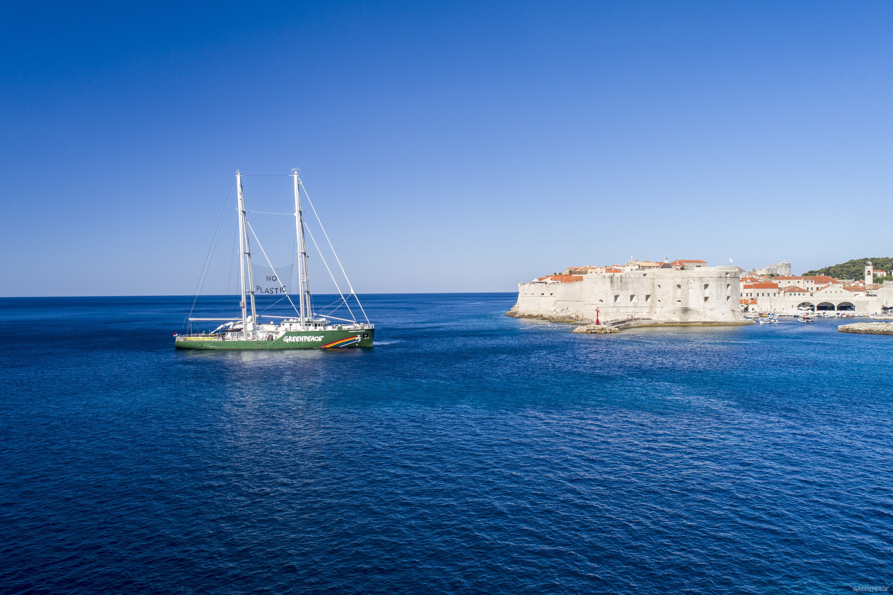 Rainbow Warrior III u Dubrovniku