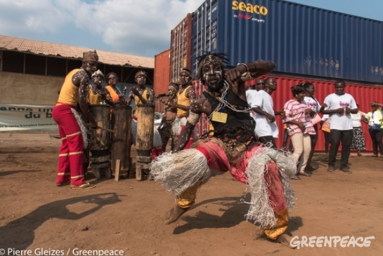 The Congo Basin forests made us dance