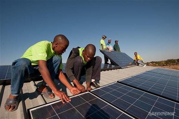 Solar Installation in South Africa