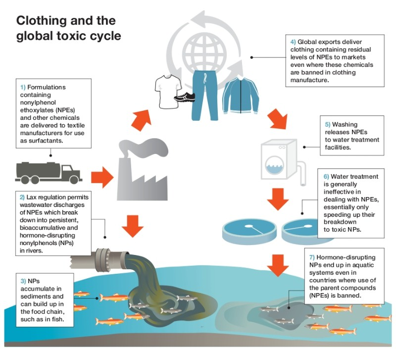 clothing toxic cycle