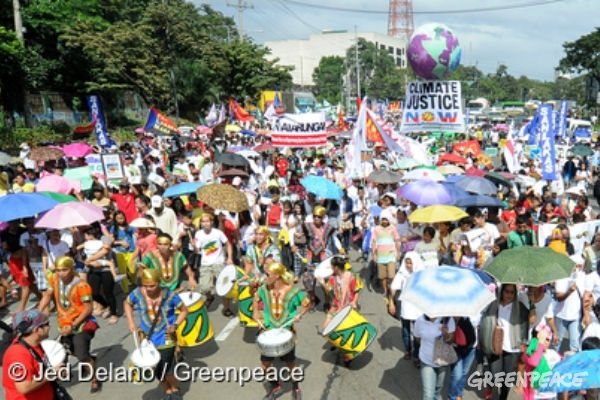 COP21 Quezon City March. 28 Nov, 2015