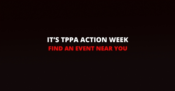 It's TPPA Action Week
