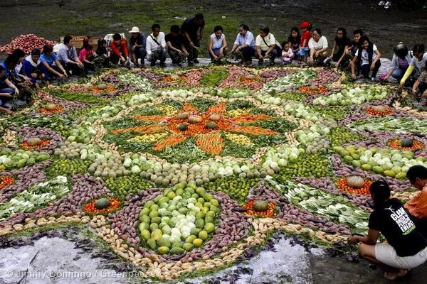 Largest Food Art In Quezon City