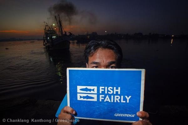 'Fish Fairly' Global Week of Action in Thailand