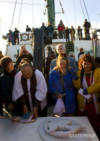 20th anniversary of the bombing of the Rainbow Warrior