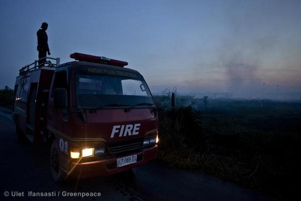 Forest Fires in Sumatra