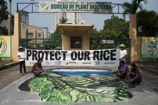 3D Art Protest At Bureau Of Plant Industry In Manila