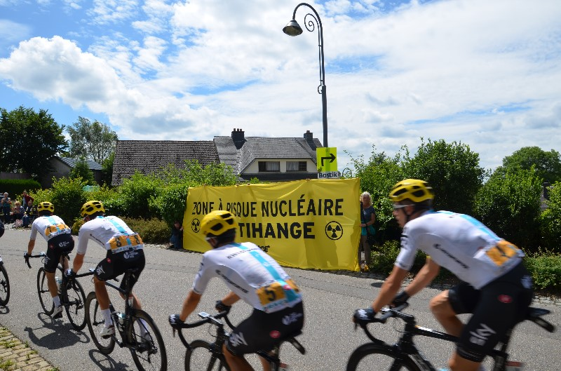 Stop Tihange Tour de France 2017