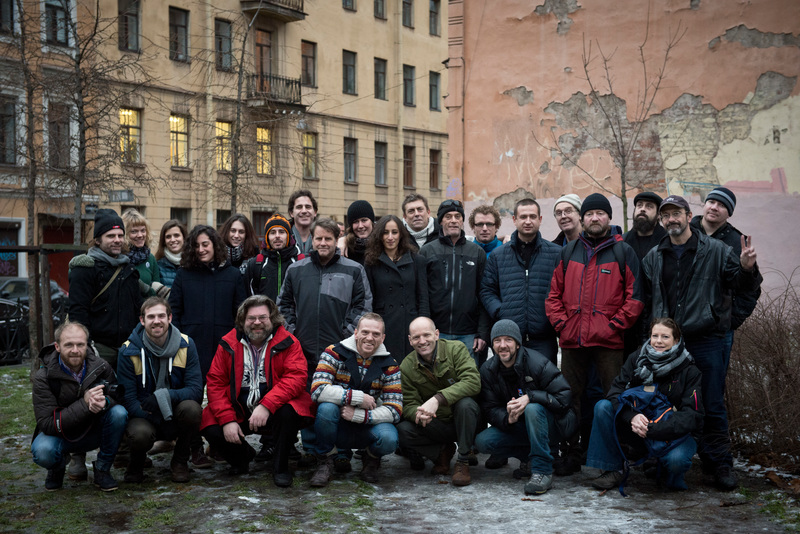 The group picture of the Arctic 30 ( there are only 26 on this picture.Tomasz,Francesco,Ekaterina,Andrey are missing.)