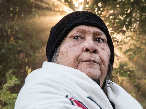 Ta'ah, Grandmother, Tsleil Waututh nation. © Zach Emery