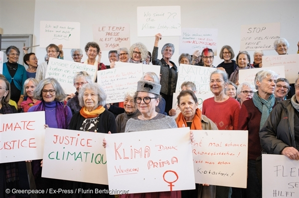 The KlimaSeniorinnen (Senior Women for Climate Protection) have made a legal challenge to the Swiss Government's climate policies, highlighting shortfalls that are putting their lives and future generations at risk.