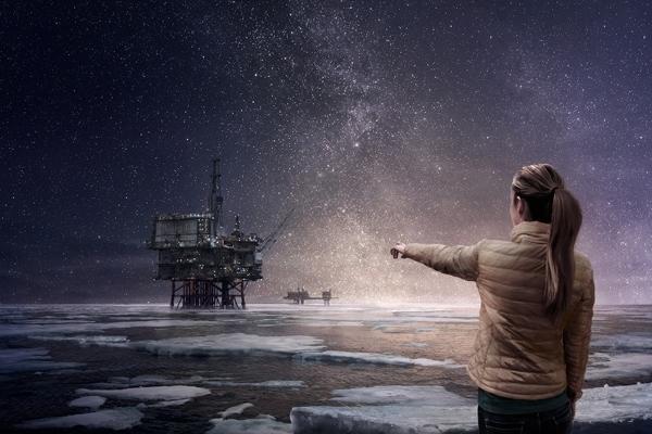 The People vs Arctic Oil. © Greenpeace