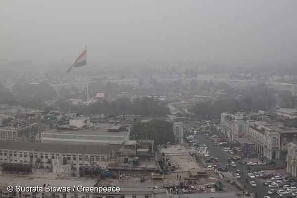 Delhi has been recording dangerous levels of air pollution in spite of the largest number of NAQI stations located in the capital.