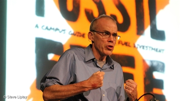 Bill McKibben is an author, environmentalist and activist. In 1988 he wrote The End of Nature, the first book about global warming for a mass audience. He is a co-founder and Senior Advisor at 350.org, an international climate campaign that works in 188 countries around the world. © Steve Liptay