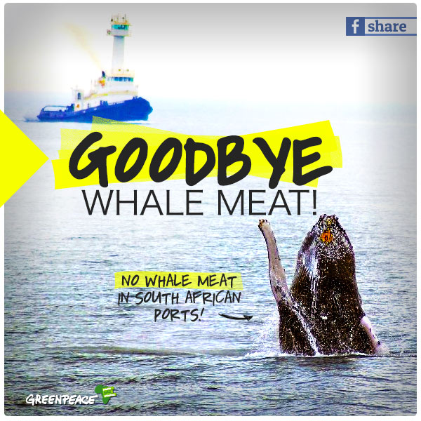 Goodbye Whale Meat!