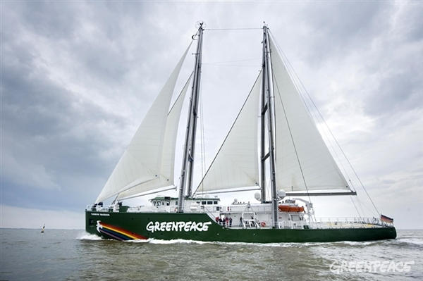 The new Rainbow Warrior is unlike any ship you've ever seen