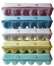 egg cartons from store
