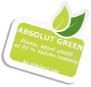 Absolut green font